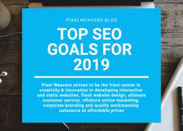 Top SEO Goals for 2019